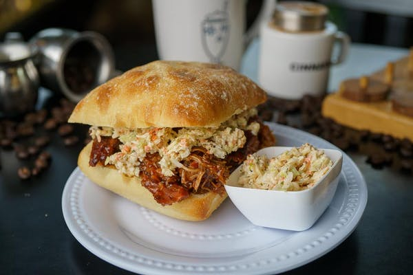 Pulled Pork & Slaw Sandwich