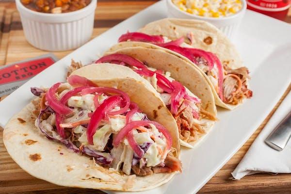 Pork Taco with Side