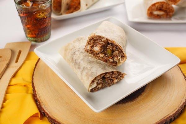 Teriyaki Chicken Burrito