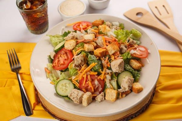 Teriyaki Grilled Chicken Salad