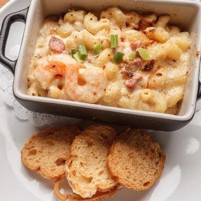 Shrimp & Tasso Mac 'n Cheese