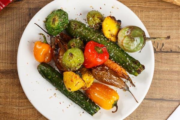 Wood Roasted Seasonal Vegetables
