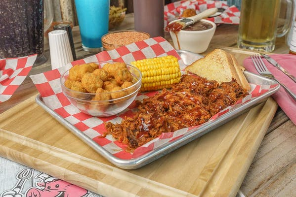 BBQ Pulled Pork Plate