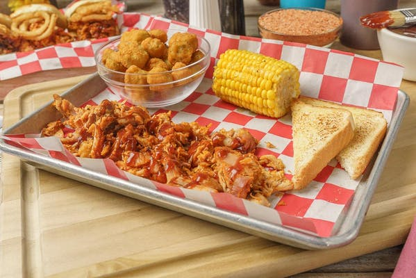BBQ Pulled Chicken Plate