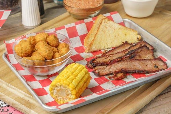 BBQ Brisket Plate