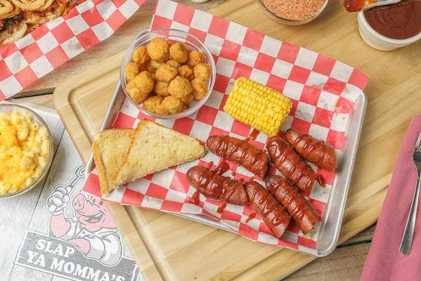 Linked Smoked Sausage Plate
