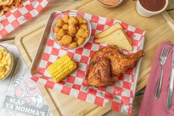 Bone-In Half Chicken Plate
