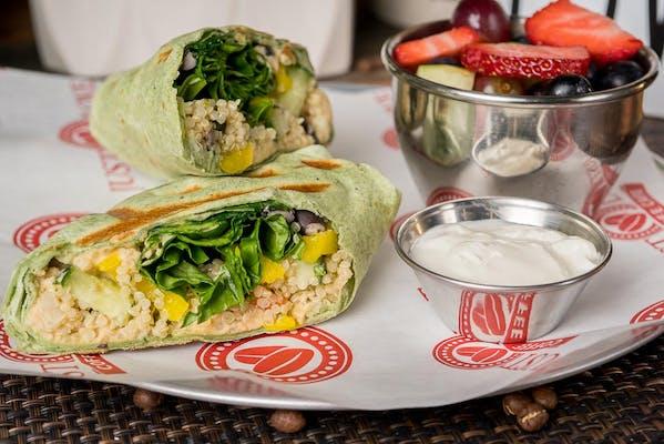 Quinoa Veggie Wrap