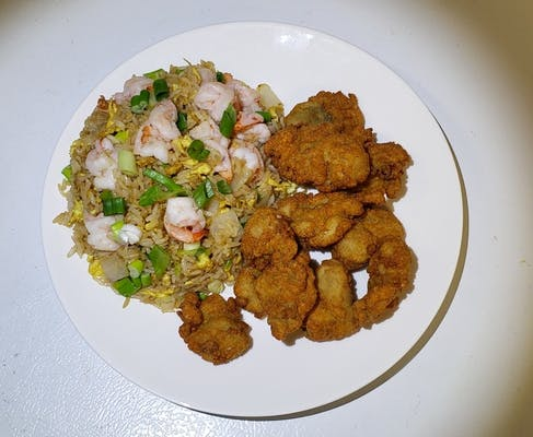 37. Fried Oyster