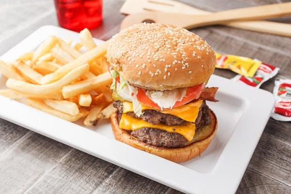 Big John Burger Combo