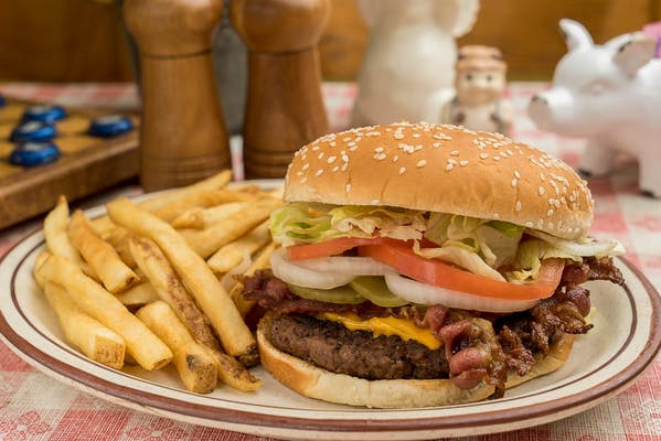 Smokey Burger & Fries