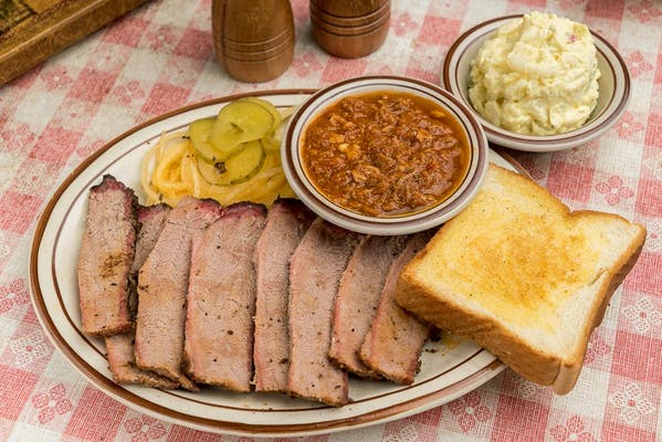 Smoked Beef Brisket Plate