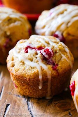 Lemon Cranberry Muffin