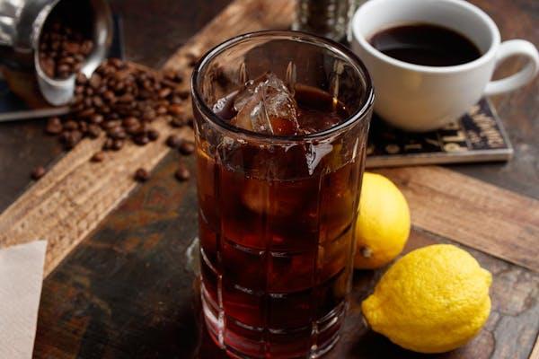 Black Currant Iced Tea