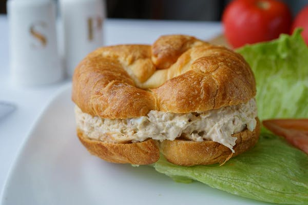 293.  Chicken Salad Croissant Sandwich