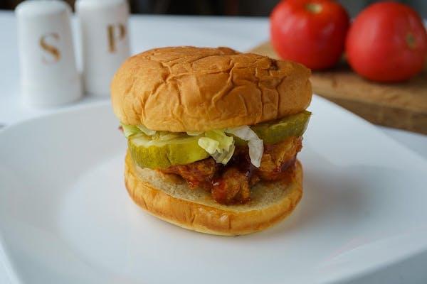 343. Deluxe Chicken Sandwich