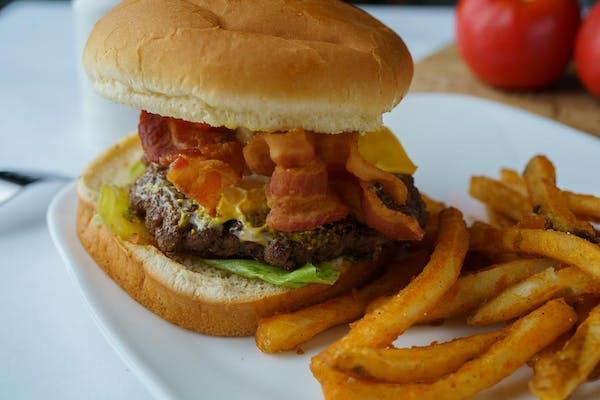 264. Bacon Cheeseburger