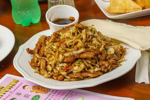 82. Moo Shu Pork or Chicken