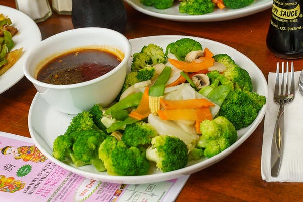 98. Steamed Mixed Vegetables