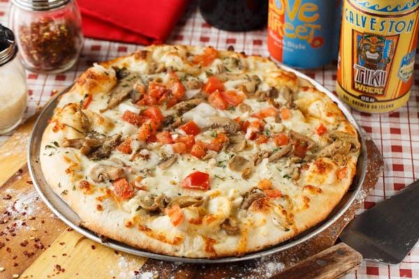 Twice Baked Sicillian Pizza