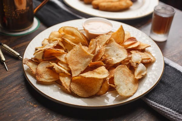 House-Cut Chips Plate