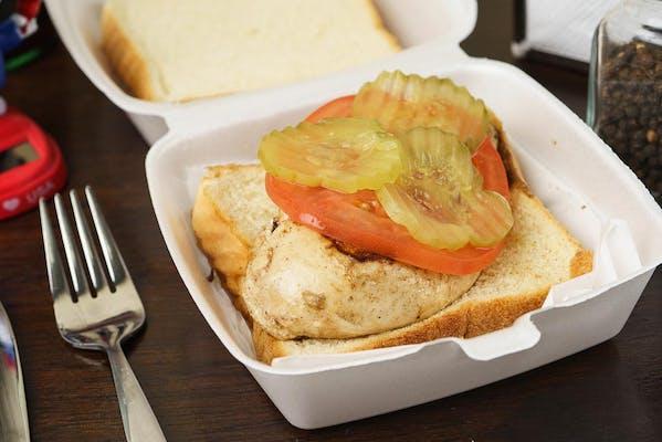 Cluck Norris Sandwich