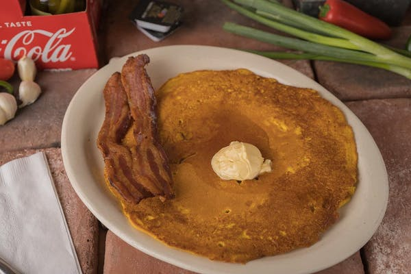 #3. Special (Hot cake, bacon, and side)