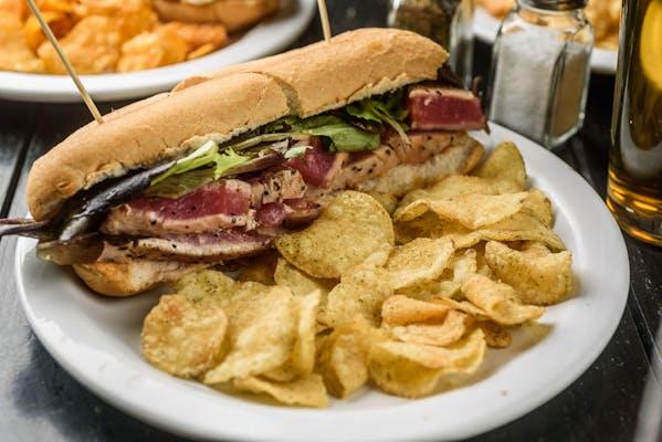 Ahi Tuna Steak Sandwich