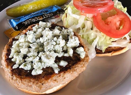 Turkey Bleu Cheese Burger