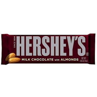 (2.6 oz.) Hershey's w/Almond Chocolate Bar
