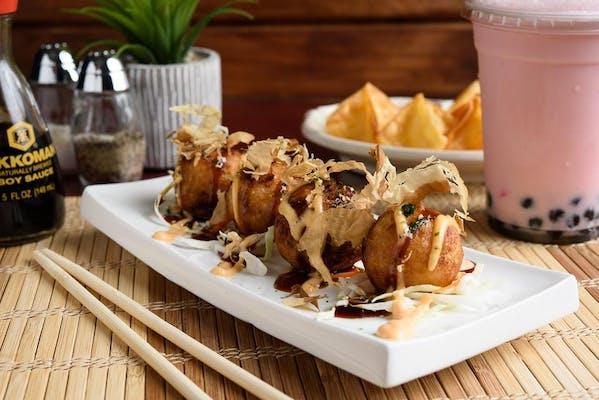 Takoyaki (Octopus Ball)