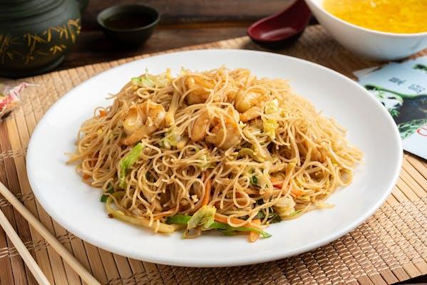 34. Shrimp or Beef Chow Mai Fun
