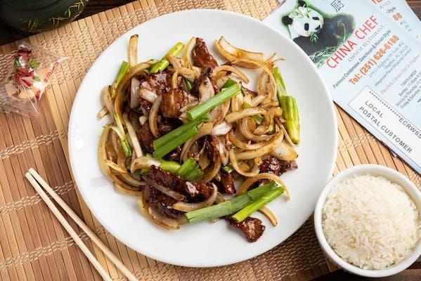 84. Mongolian Beef