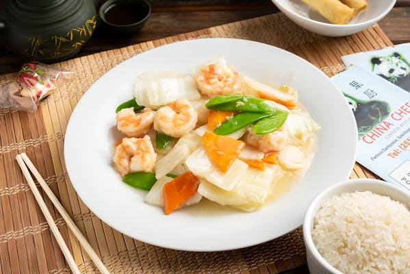 70. Shrimp with Chinese Vegetables
