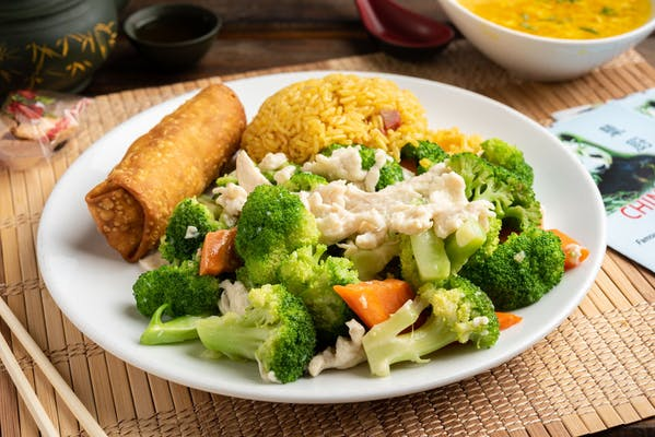L9. Chicken or Pork with Broccoli