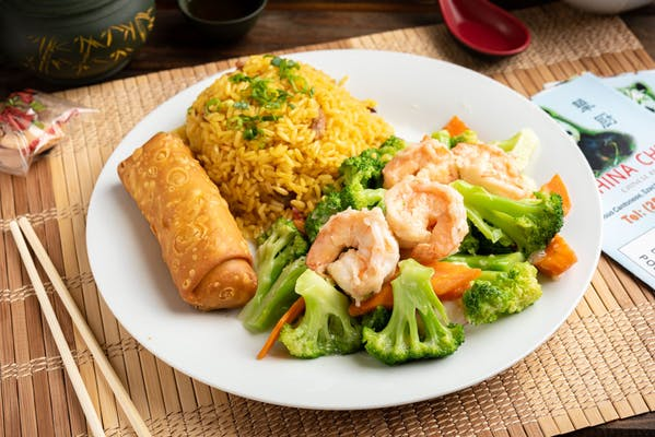 L11. Shrimp or Beef with Broccoli