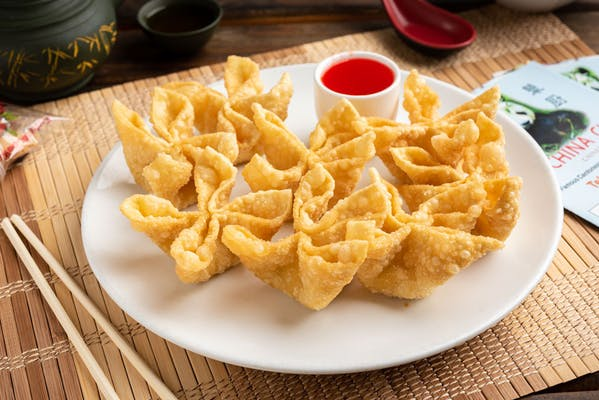 8. Crab Rangoon