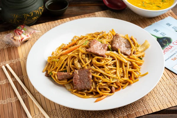 30. Beef Lo Mein