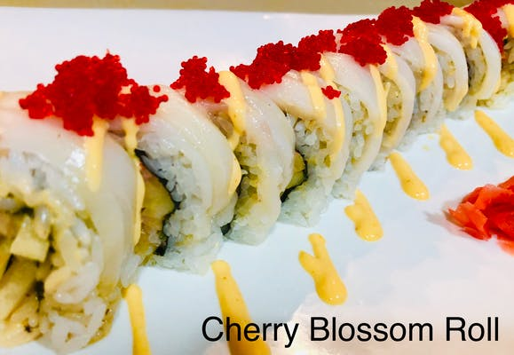 Cherry Blossom Special Roll