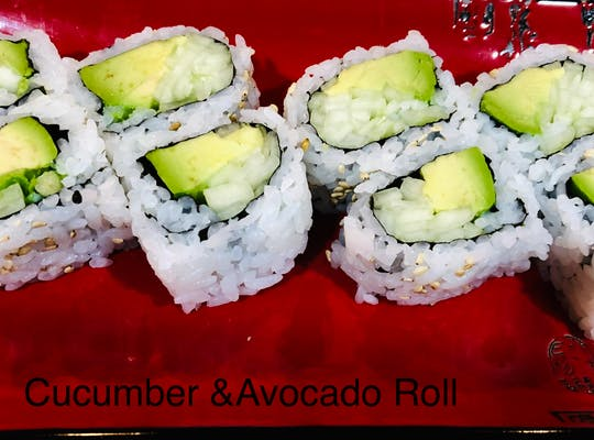 Cucumber & Avocado Roll