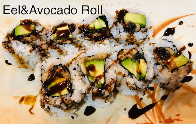 Eel&avocado Roll