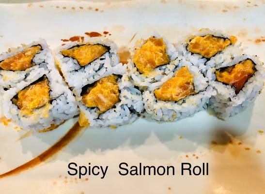 *Spicy Salmon Roll