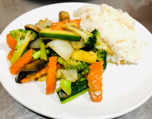 Hibachi Vegetables