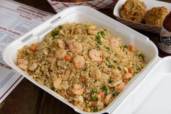 Shrimp Fried Rice Plate