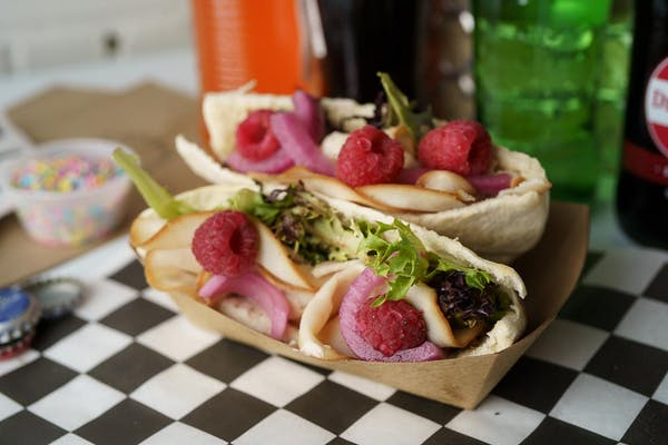 Raspberry Chipotle Turkey Pita Sandwich