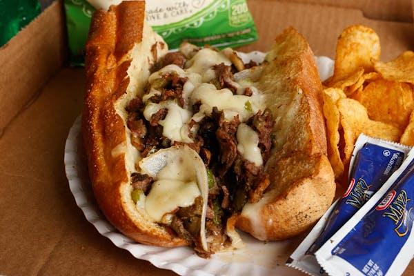 Wylie Coyote Sandwich