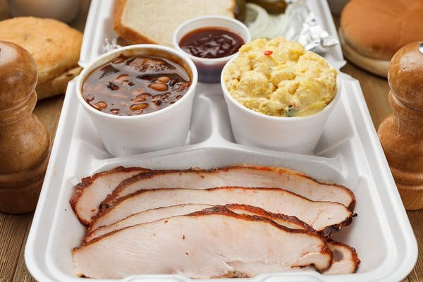 Smoked Sliced Turkey Plate