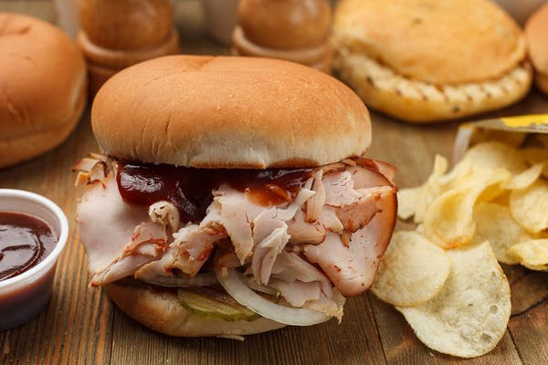 Smoked Sliced Turkey Sandwich