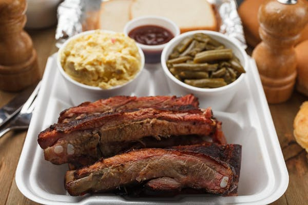 Whole Rack of Ribs Family Combo