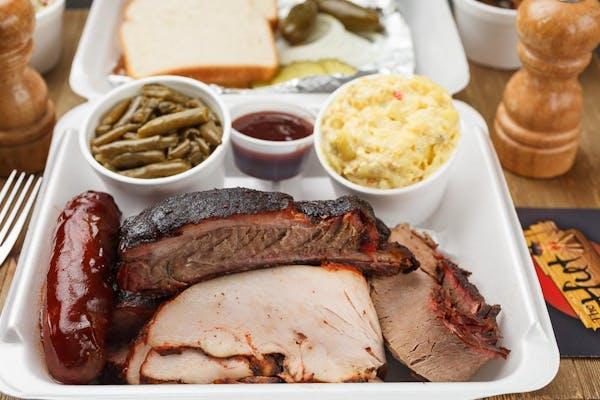 Plate Combo (2,3,4 Meats)